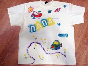 Роспись футболок @ Студия АРТ Премиум